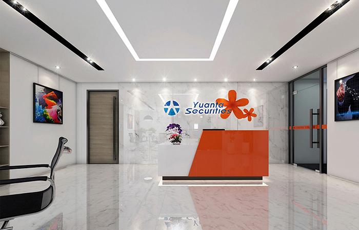 Thiết kế Nội thất văn phòng đẹp công ty YUANTA SECURITIES